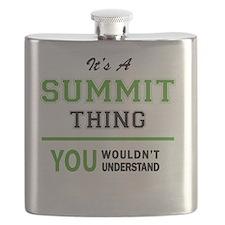 Cute The summit Flask