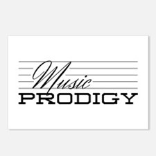 Music Prodigy Postcards (Package of 8)