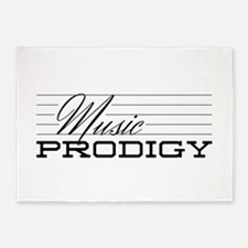 Music Prodigy 5'x7'Area Rug
