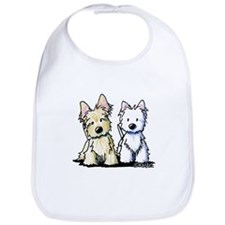 KiniArt Terrier Duo Bib