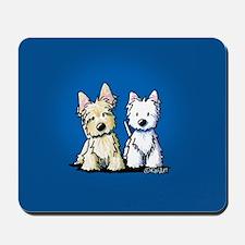 KiniArt Terrier Duo Mousepad