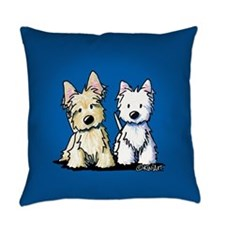 KiniArt Terrier Duo Master Pillow