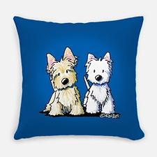 KiniArt Terrier Duo Master Pillow