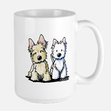 KiniArt Terrier Duo Mug