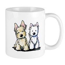 KiniArt Terrier Duo Mug