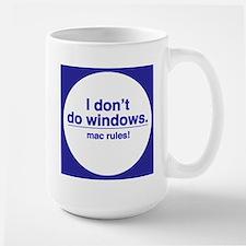 MAC RULES! - Large Mug