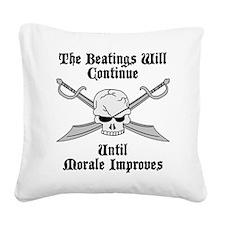 Morale Square Canvas Pillow