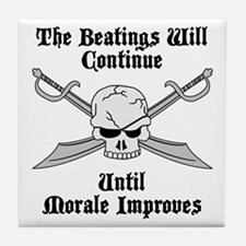 Morale Tile Coaster