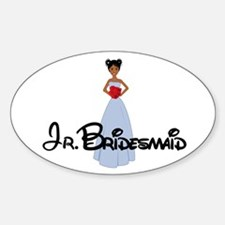 Dee's Jr. Bridesmaids Oval Decal