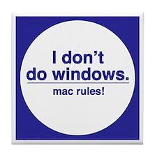 MAC RULES! - Tile Coaster