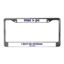 MAC RULES! - License Plate Frame