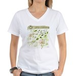 Pro-Nature Women's V-Neck T-Shirt