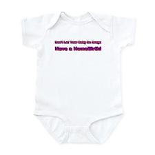 Cute Home birth Infant Bodysuit