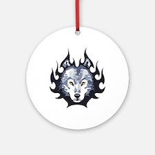 WOLF HEAD SMALL Ornament (Round)