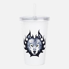 WOLF HEAD SMALL Acrylic Double-wall Tumbler