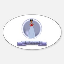 Dee's Jr. Bridesmaid Oval Decal