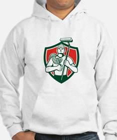 High Rise Window Cleaner Shield Retro Hoodie