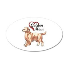 GOLDEN MOM Wall Decal