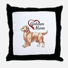GOLDEN MOM Throw Pillow