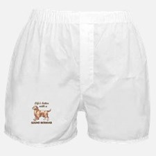 BETTER WITH RETRIEVER Boxer Shorts