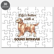 BETTER WITH RETRIEVER Puzzle