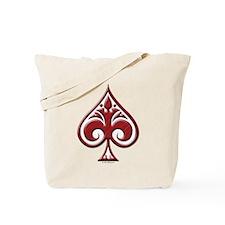 Wing Spade Tote Bag