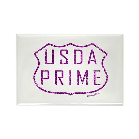 USDA Prime Rectangle Magnet (100 pack)
