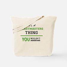 Unique Toastmaster Tote Bag
