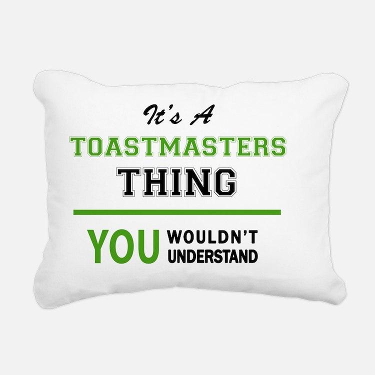 Cute Toastmaster Rectangular Canvas Pillow
