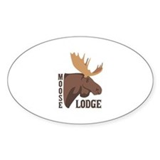 Moose Lodge Head Decal