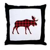 Moose Throw Pillows