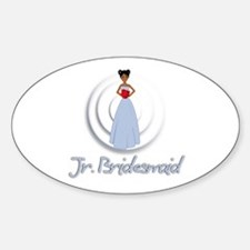 Dee's Jr's Bridesmaid Oval Decal