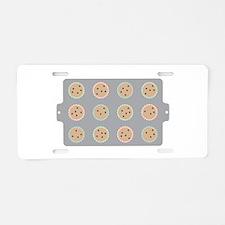 Muffin Baking Pan Aluminum License Plate