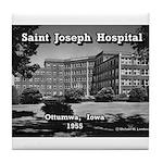 St. Joseph Hospital Tile Coaster