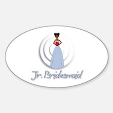 Mia's Jr. Bridesmaid Oval Decal