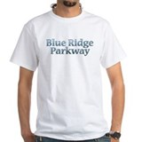 Blue ridge parkway Mens White T-shirts