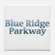 Blue Ridge Parkway NC Tile Coaster