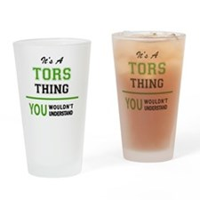 Cool Tor Drinking Glass