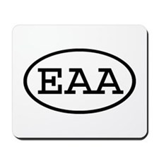 EAA Oval Mousepad
