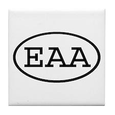 EAA Oval Tile Coaster