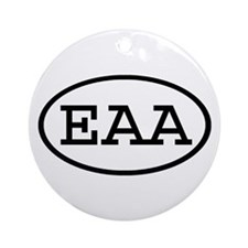 EAA Oval Ornament (Round)