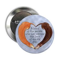 Senior Dachshund Button
