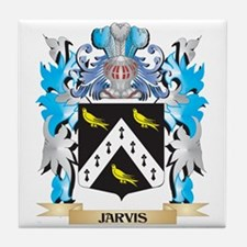 Jarvis Coat of Arms - Family Crest Tile Coaster