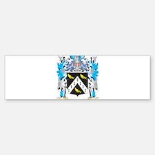 Jarvis Coat of Arms - Family Crest Bumper Bumper Bumper Sticker