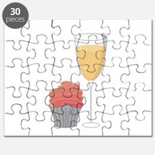 Cupcake and Margarita Puzzle