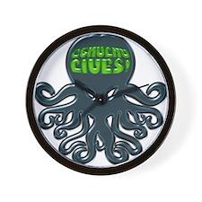 Cthulhu LIVES Wall Clock