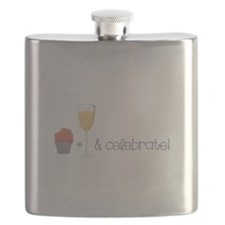 Eat drink and celebrate Flask