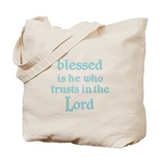 BLESSED IS HE Tote Bag