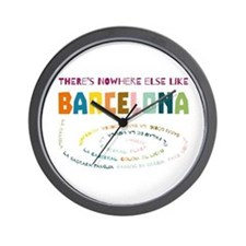 There's nowhere else like Barcelona Wall Clock