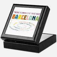 There's nowhere else like Barcelona Keepsake Box